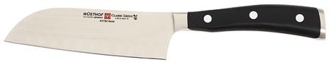 "Wusthof CLASSIC IKON 5"" Santoku Knife - 4172-7"