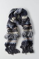American Eagle Outfitters AE Pattern Fringe Scarf