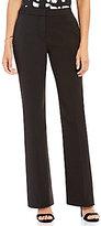 H Halston Flat Front Straight Leg Dress Pant