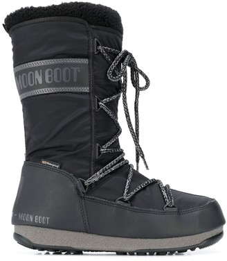 Moon Boot Lined Snow Boots