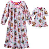 Toddler Girl Paw Patrol Marshall, Rubble, Skye & Chase Dollie & Me Nightgown Set