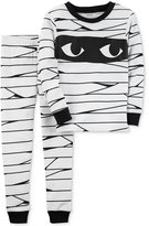 Carter's 2-Pc. Glow-In-The-Dark Mummy Cotton Pajama Set, Baby Boys & Girls (0-24 months)