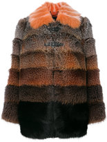 Fendi Ombré Fox Fur Coat