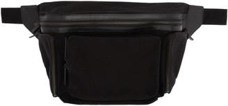 Dries Van Noten Black Cover Messenger Bag