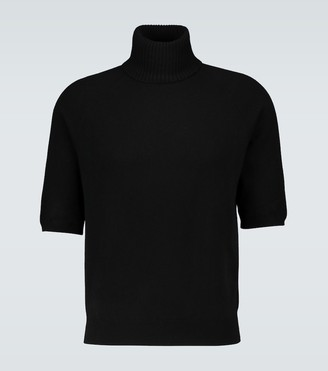 Saint Laurent Short-sleeved cashmere sweater