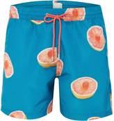 Paul Smith Men's Grapefruit Print Swim Short