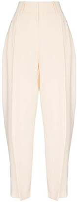 See by Chloe High-Rise Tapered Trousers