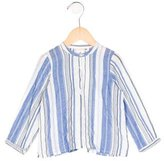 Bonpoint Girls' Striped Long Sleeve Top