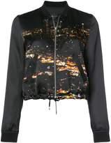 Barbara Bui city lights bomber jacket