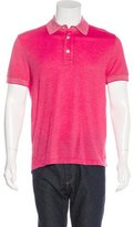 Tom Ford Short Sleeve Polo Shirt