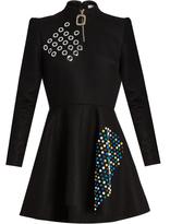 J.W.Anderson Embellished wool skater dress