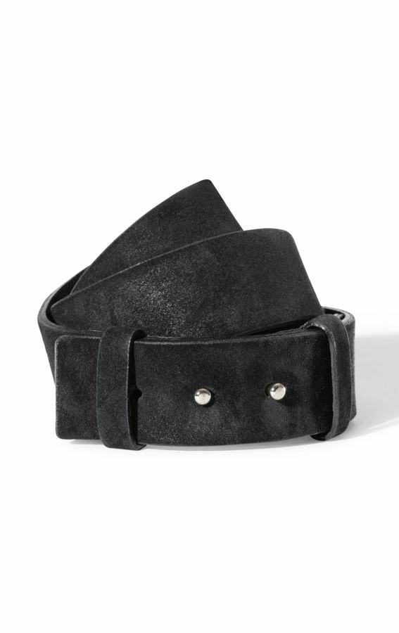 Theory Clean Suede Belt