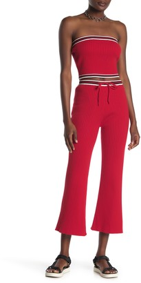 Emory Park Drawstring Rib Knit Crop Pants