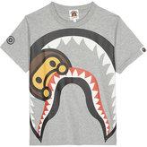 A Bathing Ape Shark cotton T-shirt 4-8 years