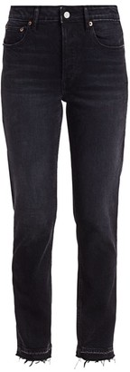TRAVE Constance High-Rise Straight Leg Jeans