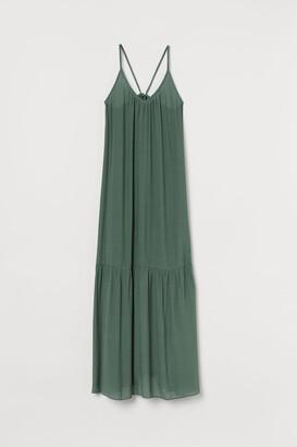 H&M Long Beach Dress - Green