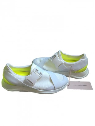 Christopher Kane White Polyester Trainers
