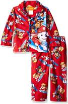 "Nickelodeon Paw Patrol Little Boys' Toddler ""Ready to Roll"" 2-Piece Pajamas"