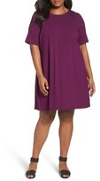 Eileen Fisher Plus Size Women's Stretch Jersey Shift Dress
