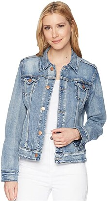 Jag Jeans Rupert Denim Jacket (Mid Vintage) Women's Coat
