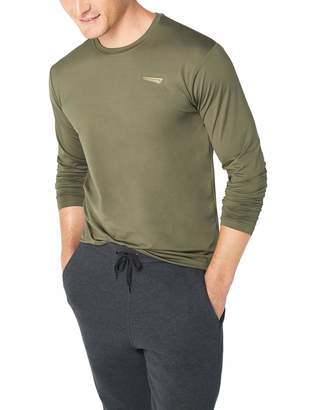 Copper Fit Men's Base Layer Long Sleeve Crew Neck Compression Tee