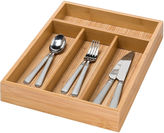 Honey-Can-Do Bamboo 4-Compartment Cutlery Tray