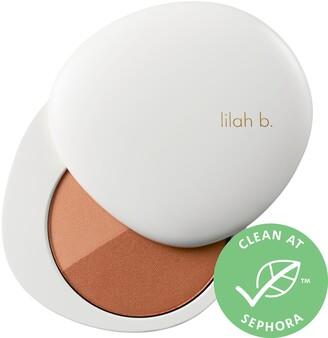 lilah b. Bronzed Beauty Bronzer Duo