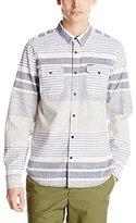Buffalo David Bitton Men's Sibraw Long Sleeve Striped Woven Shirt