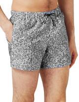 Topman Granite Effect Swim Shorts