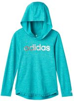 adidas Girls 4-6x Make Your Mark climalite Pullover Hoodie