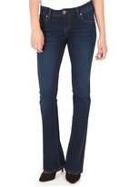 KUT from the Kloth Petite Mid-Rise Natalie Boot cut Jeans