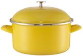Leon Stock Pot, 24cm, Yellow