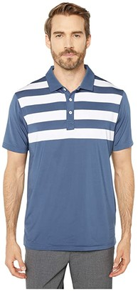 Puma Pars and Stripes Polo (Dark Denim) Men's Clothing