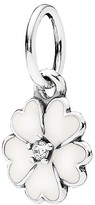Pandora Pendant - Sterling Silver & Enamel Primrose, Moments Collection