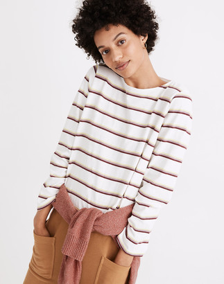 Madewell Boatneck Tee in Stripe
