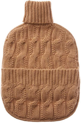 Sofia Cashmere sofiacashmere Sofiacashmere Cable Hot Water Bottle Cover
