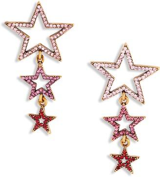 Stella + Ruby Shooting Star Drop Earrings