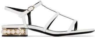Nicholas Kirkwood Casati flat sandals