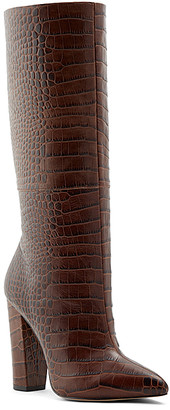Aldo Women's Casual boots MEDIUM - Medium Brown Ibilia Leather Boot - Women