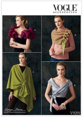 Vogue Women's Wrap Sewing Pattern, 9291