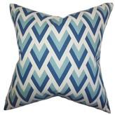 Eleri Geometric Cotton Throw Pillow Cover The Pillow Collection