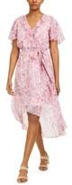Bar III Printed High-Low Dress, Created For Macy's