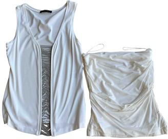 Plein Sud Jeans Ecru Top for Women