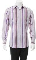 Etro Striped Button-Up Shirt