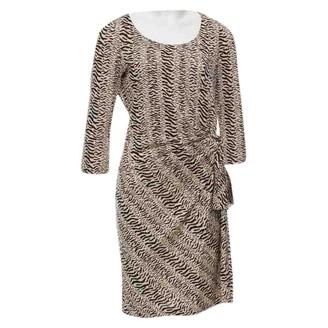 Gerard Darel Beige Silk Dress for Women