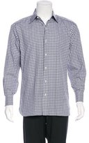 Tom Ford Embroidered Plaid Shirt