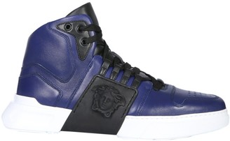 Versace Empire Lace-Up Sneakers