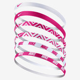 Nike Printed Headbands (6 Pack)
