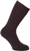 Barbour Earth Brown Calf Length Wellington Socks