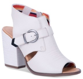 Dingo Women's Stirrup Leather Sling Back Boot Women's Shoes